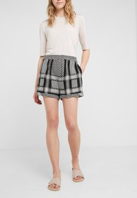CECILIE copenhagen - Shorts - black/stone - 0