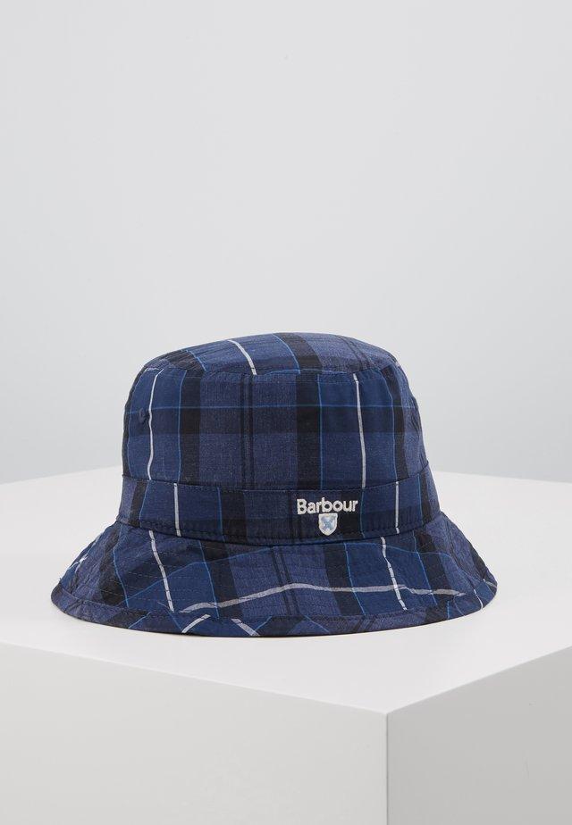 TARTAN BUCKET HAT - Klobouk - ink