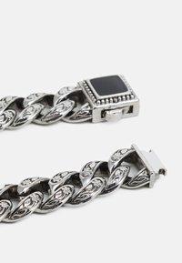 Urban Classics - MONUMENTAL BASIC BRACELET - Rannekoru - silver-coloured - 1