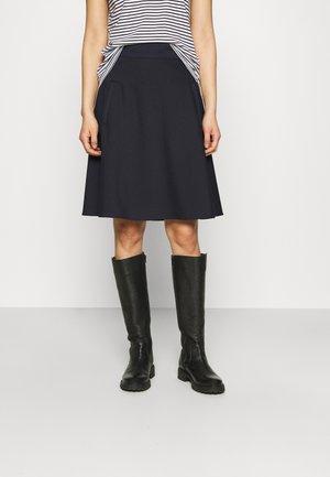 STRETCH STELLY - A-line skirt - navy