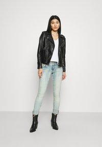 Deadwood - RIVER ORIGINAL - Leather jacket - black - 1
