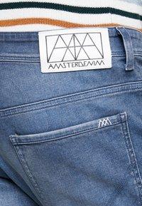 Amsterdenim - JOHAN - Jeans Tapered Fit - regenwolk - 3
