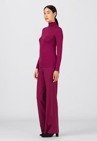 HALLHUBER - Long sleeved top - cassis - 1