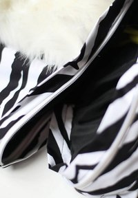 WeeDo - Snowsuit - zebra white - 6