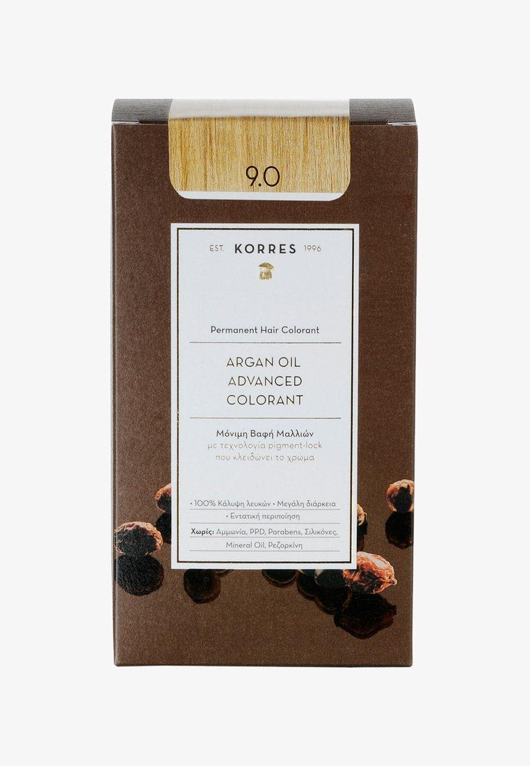 Korres - ARGAN OIL ADVANCED COLORANT - Hair colour - 9.0 very light blonde