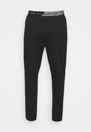 SINGLE LOUNGE PANT - Pyžamový spodní díl - black