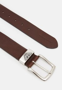 Emporio Armani - CINTURA - Belt - dark tan - 2