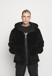 Topman - HOODED - Tunn jacka - black - 0