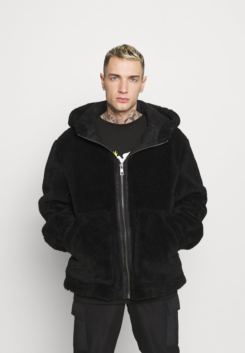 Topman - HOODED - Tunn jacka - black