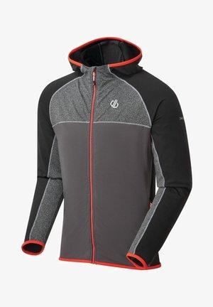 RATIFIED II  - Fleece jacket - black/grey