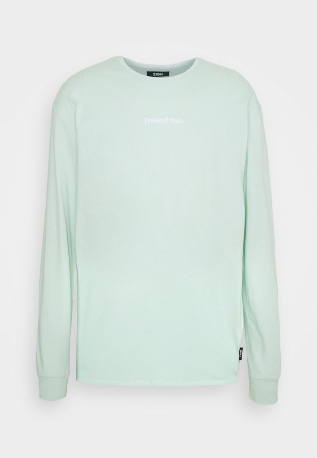 UNISEX - Long sleeved top - turquoise