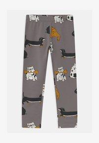 Lindex - AUTHENTIC DOG UNISEX - Leggings - Trousers - grey - 0