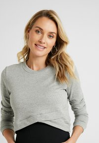 Glamorous Bloom - CROPPED - Sweatshirt - grey - 3