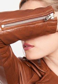 BTFCPH - MIA - Leather jacket - dark cognac - 6