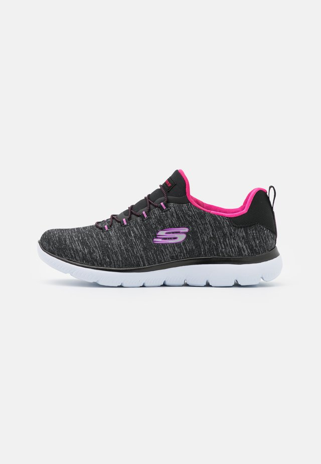 SUMMITS - Joggesko - black/pink/purple