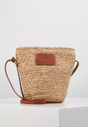 CROSSBODY BAG - Umhängetasche - nature
