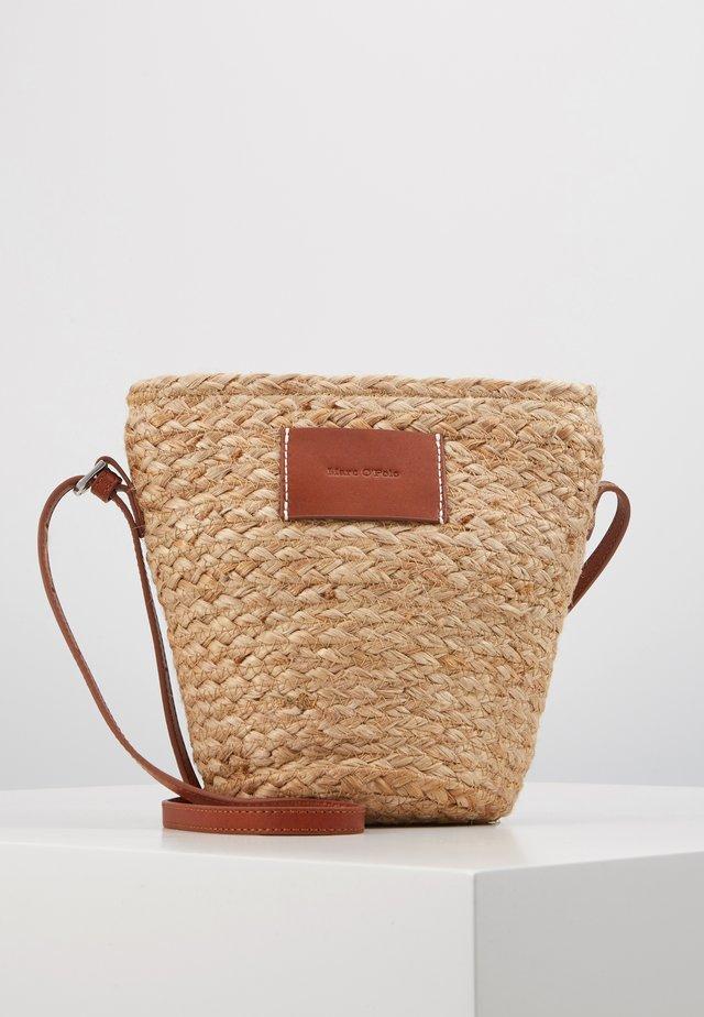 CROSSBODY BAG - Across body bag - nature