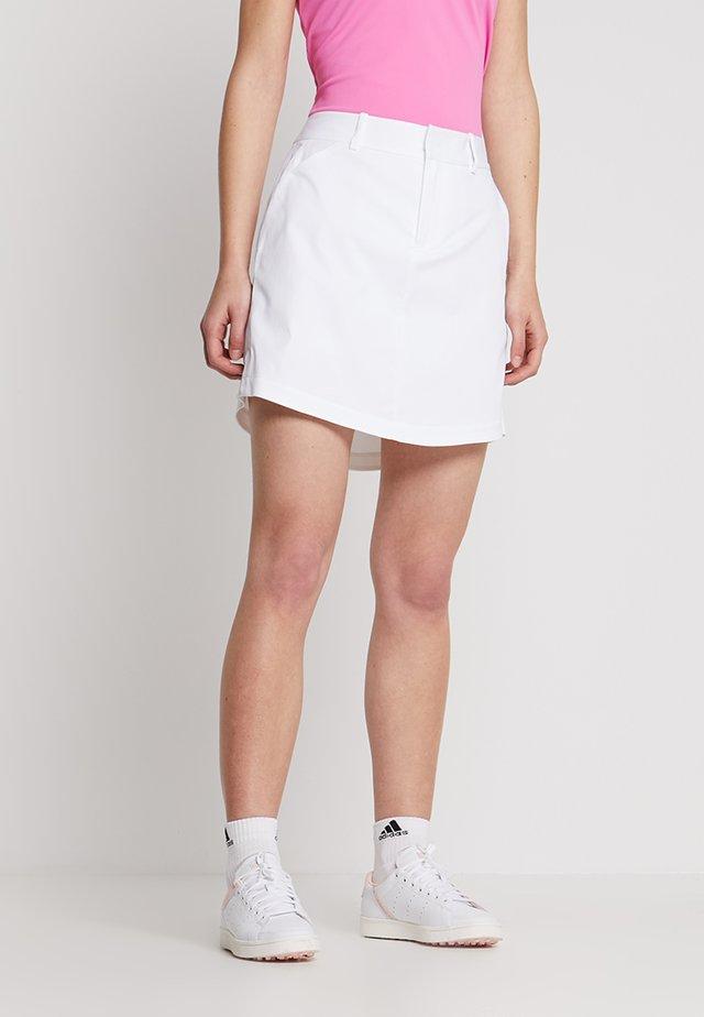 ATHENA TECH - Spódnica sportowa - pure white
