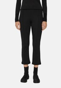 Esprit - REGULAR FIT - Trousers - black - 0