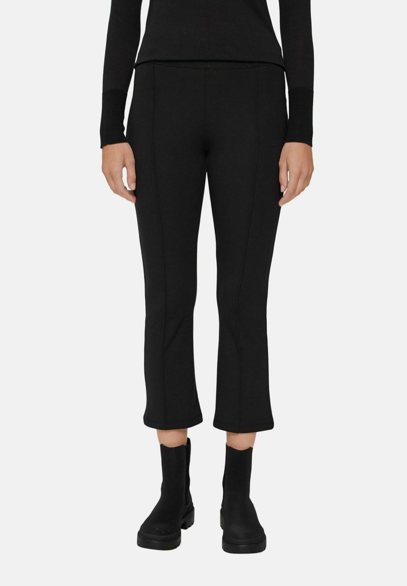 Esprit - REGULAR FIT - Trousers - black