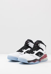 Jordan - MARS 270 - High-top trainers - white/reflect silver/noble red/black - 2
