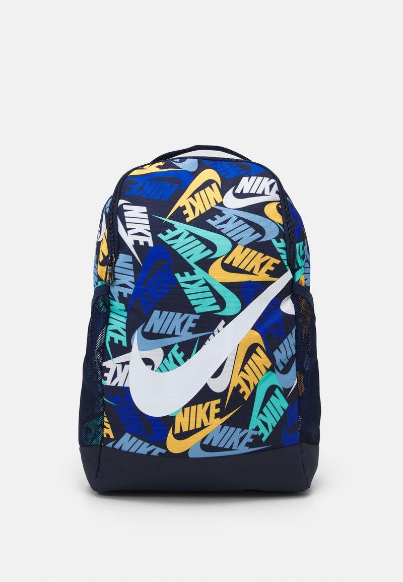 Nike Sportswear - BRASILIA UNISEX - Rucksack - midnight navy/white