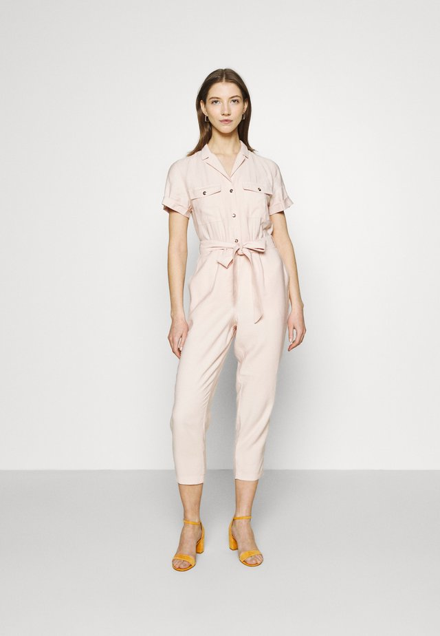 ZOE UTILITY BELTED - Jumpsuit - blush