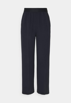 EVELYN - Trousers - dark night