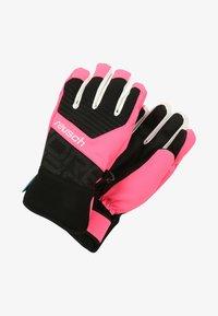 black/knockout pink