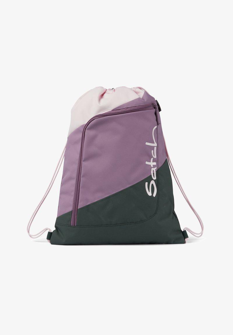 Satch - Drawstring sports bag - rose olive purple
