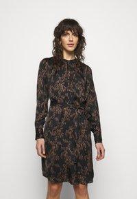 Bruuns Bazaar - ZEBRA TREE AYAN DRESS - Day dress - black - 2