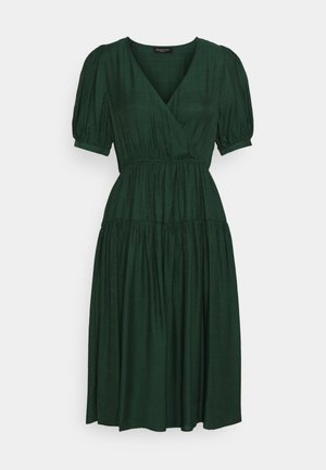 SLFGITTA MIDI DRESS EX PETITE - Vestito estivo - darkest spruce