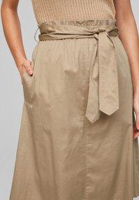 s.Oliver BLACK LABEL - A-line skirt - warm sand - 3