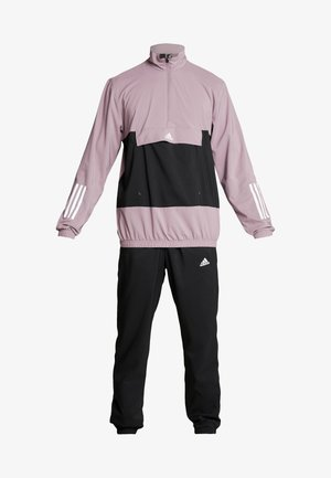 TECH AEROREADY ATHLETICS SPORT TRACKSUIT - Trainingsanzug - purple/white