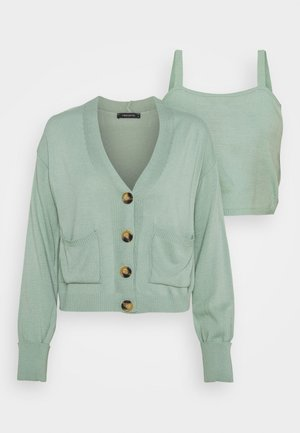 SET - Cardigan - mint
