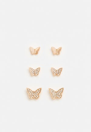 CANOPUS 3 PACK - Earrings - rosegold-coloured