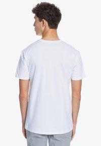 Quiksilver - BUBBLE JAM  - Print T-shirt - white - 2