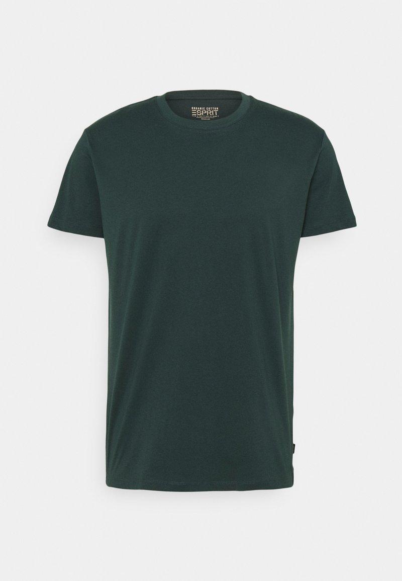 Esprit - Basic T-shirt - dark green