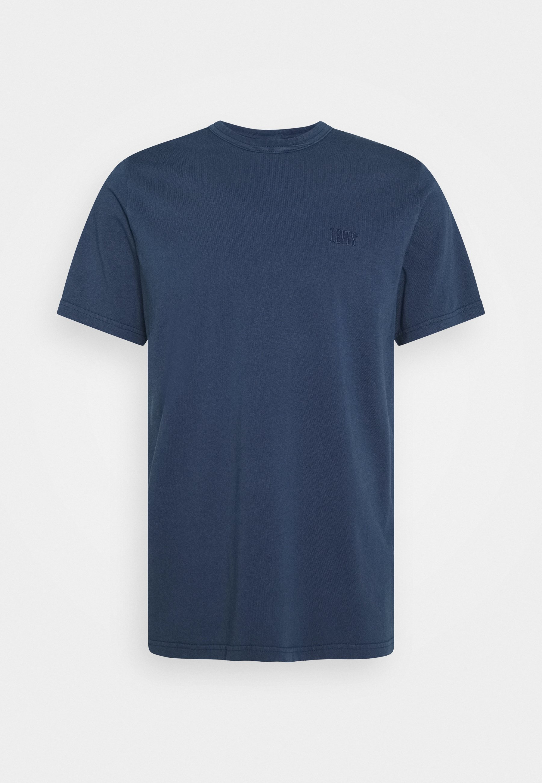 Levi's® Authentic Crewneck Tee - T-shirts Dark Blue/mørkeblå