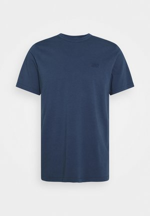 AUTHENTIC CREWNECK TEE - T-shirt basic - dark blue