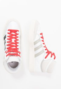 adidas Originals - AMERICANA - High-top trainers - footwear white/core black/glow red - 1