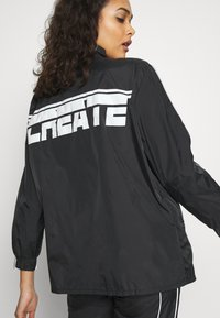 Missguided - CODE CREATE JACKET WITH REFLECTIVE PIPING - Bomber Jacket - black - 5