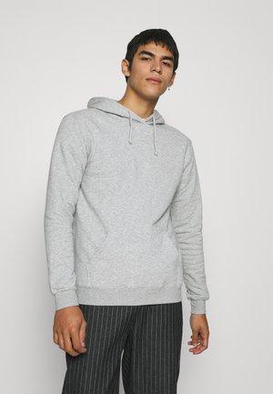 ESSENTIAL UNISEX - Felpa con cappuccio - light grey marle