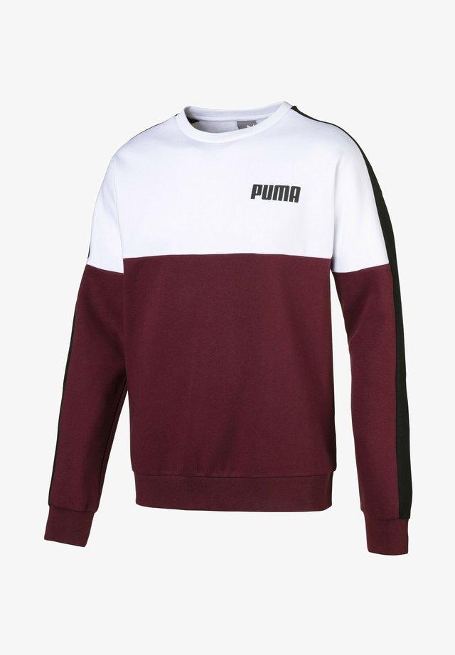 Sweatshirt - tawny port