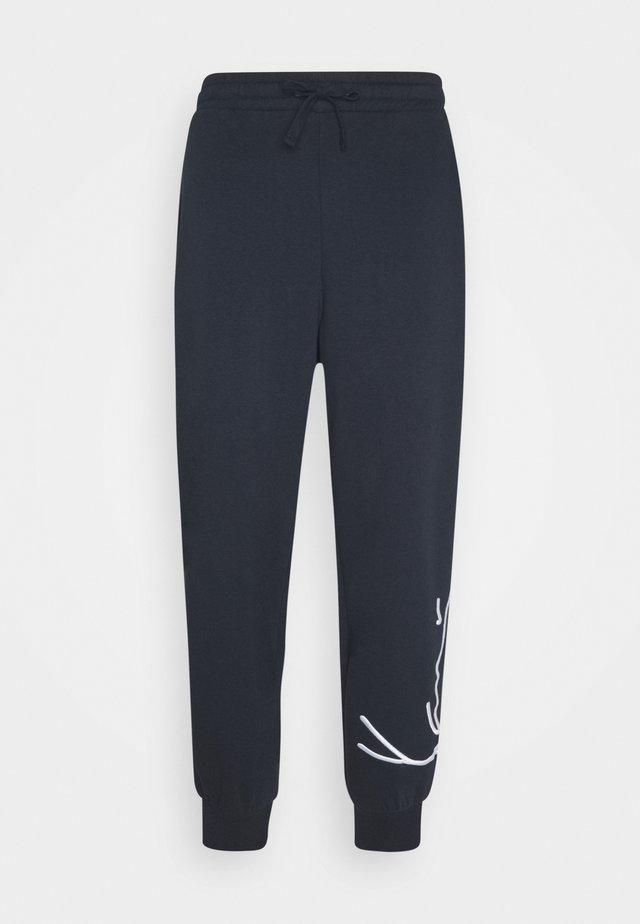 SIGNATURE  - Pantaloni sportivi - navy