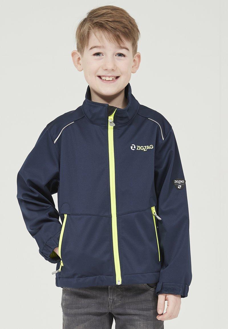 ZIGZAG - Waterproof jacket - 2048 navy blazer