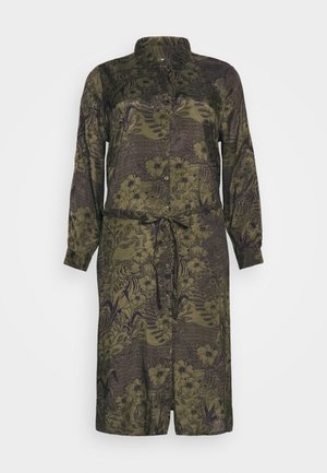 MONT DRESS - Shirt dress - grape leaf