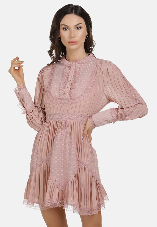 KURZES KLEID - Korte jurk - light pink