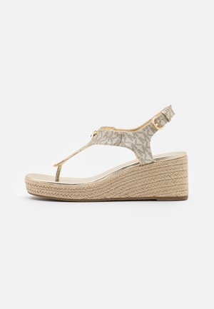 LANEY THONG - Sandalias de dedo - pale gold