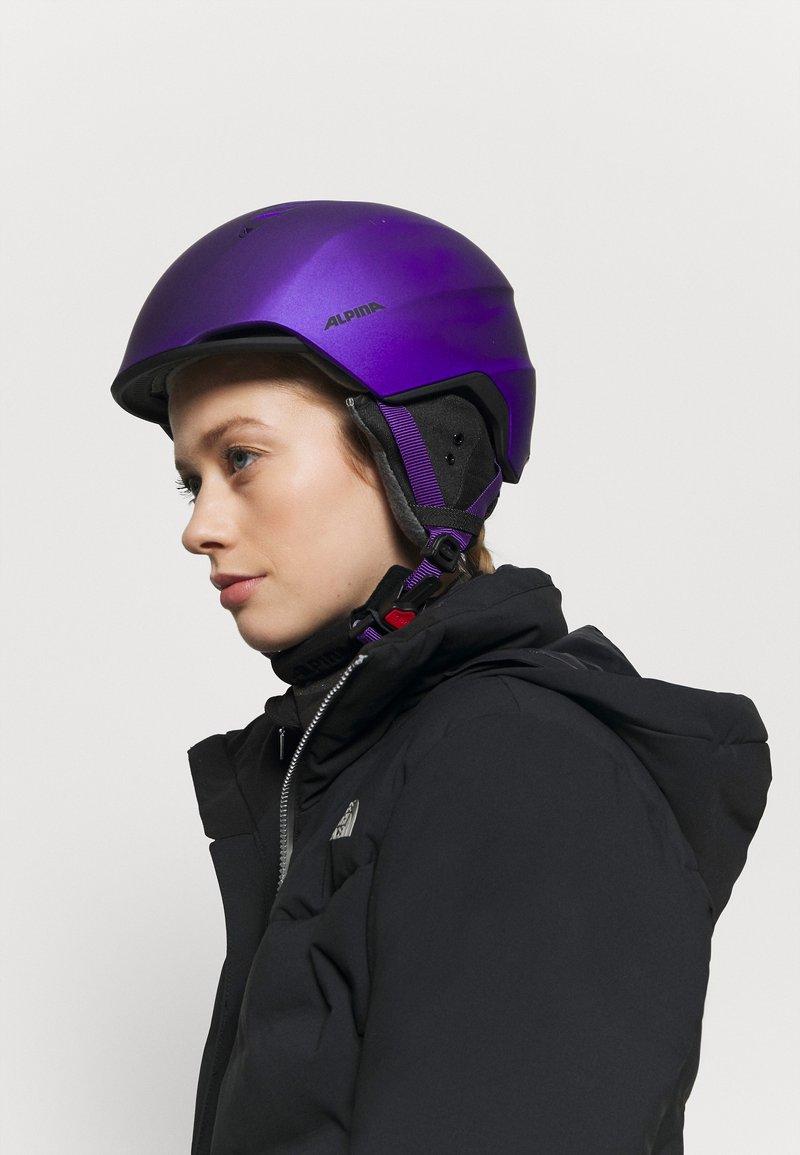 Alpina - LAVALAN  - Helmet - dark violet matt
